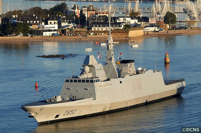 On 23 November, European Joint Armament Cooperation Organisation OCCAR* formally signed acceptance documents on behalf of French defence procurement agency DGA following the delivery of FREMM frigate Aquitaine in compliance with all contractual requirements.