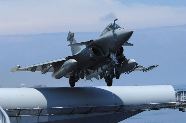 On September 19, 2012, a French Navy (Marine Nationale) Rafale M was launched from the nuclear powered aircraft carrier Charles de Gaulles (R91) and fired an Exocet anti-ship missile according to the French aerospace magazine Air & Cosmos.