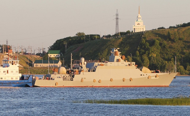 "The Russian Navy will receive three new missile corvettes by the end of 2015, navy commander Adm. Viktor Chirkov said Wednesday. ""The navy is expecting the Veliky Ustyug corvette this year and two more warships of the same class in 2015,"" Chirkov said."