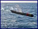 "On 14 August 2013, the Royal Australian Navy (RAN) successfully conducted the world's first firing of a ""war shot"" MU90 Lightweight Torpedo. The MU90 torpedo is developed by the European Economic Interest Group EUROTORP (formed by DCNS, Thales and WASS). ANZAC Class Frigate HMAS Stuart fired the torpedo which detected, classified and then engaged the submerged target, representing a small displacement submarine."