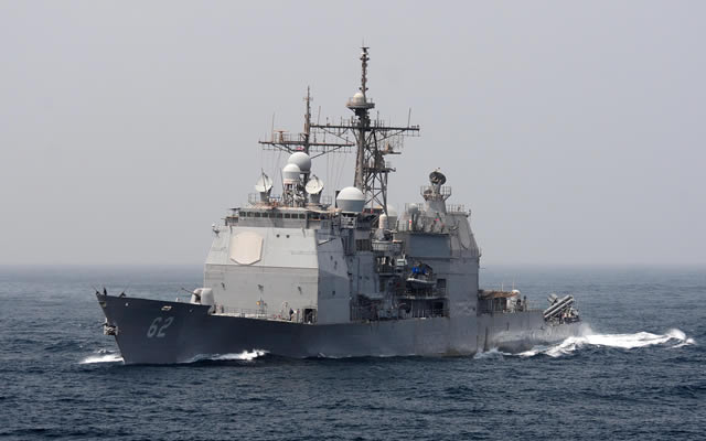 The Lockheed Martin and U.S. Navy team's Aegis Combat System successfully completed the first live firing test that proves the system can defend beyond its line of sight by integrating data from a remote sensor to intercept a target.