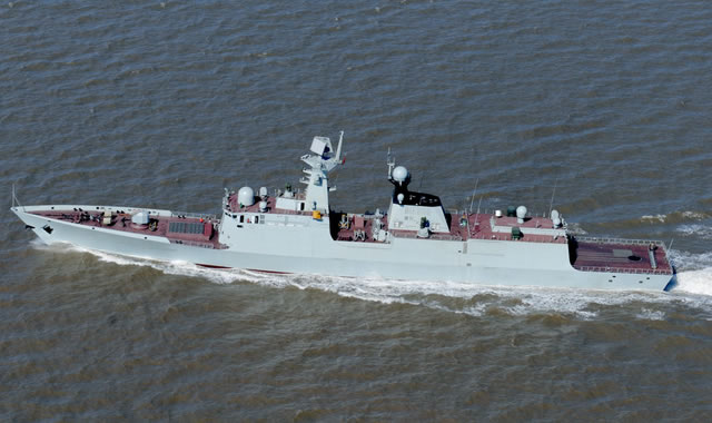 The guided missile frigate Sanya officially joined the service of the People's Liberation Army (PLA) Navy during a delivery ceremony held Friday, according to military sources. Sanya is the 16th Type 054A Frigate and is assigned to the PLAN's South Sea Fleet.