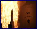 A Raytheon Company Standard Missile-3 Block IB fired from the USS Lake Erie destroyed a complex, separating short-range ballistic missile target with a sophisticated separating mock warhead. Despite stressing conditions designed to challenge the missile's discrimination capabilities, the SM-3 successfully engaged the target using the sheer kinetic force of a massive collision in space.