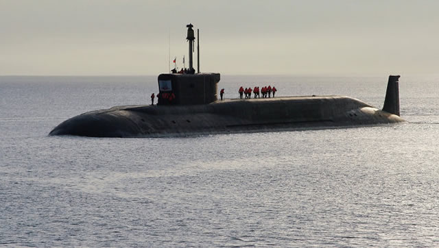 "Russia's new nuclear-powered submarine, the Alexander Nevsky, has completed sea trials, a shipbuilder said Monday. Work on the Borey-class project is ""on schedule,"" the Sevmash shipyard said, without providing any indication of when the submarine would join the navy."