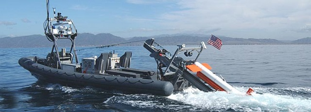Northrop Grumman Corporation (NOC) has been awarded a contract to support the U.S. Navy's integration onto an unmanned surface vehicle (USV) of the Northrop Grumman-built AQS-24A Side Look Sonar System to look for bottom and volume mines remotely.