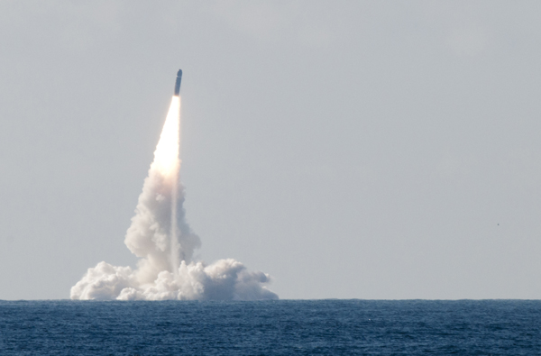 A French M51 SLBM (Submarine Launched Ballistic Missile) test has ended in failure after the missile self destructed shortly after its launch from the French Navy's Le Vigilant SSBN off the coast of Brittany on May 5th 2013.