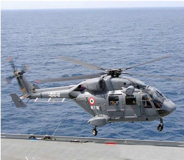 The Indian Government yesterday approved INR 7000 crore ($1.1 billion) valued contract for procurement of 32 new HAL Dhruvs for Indian Navy and Coast Guard. The first ALH (Dhruv) Squadron was commissioned in the Indian Navy in November 2013. Dhruv is the first indigenously designed and manufactured helicopter at Hindustan Aeronautics Limited and with its multi role capabilities has proven her mettle in all the three services of the Armed Forces, Indian Coast Guard, BSF and in the inventory of foreign countries.