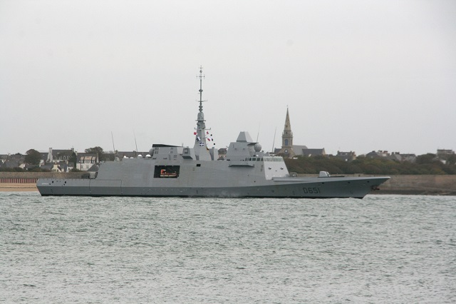 FREMM frigate Normandie, the second of the Aquitaine class for the French Navy, put to sea for the first time on 25 October. This milestone marks the beginning of the ship's sea trials, which will take place off Brittany and are expected to last several weeks.
