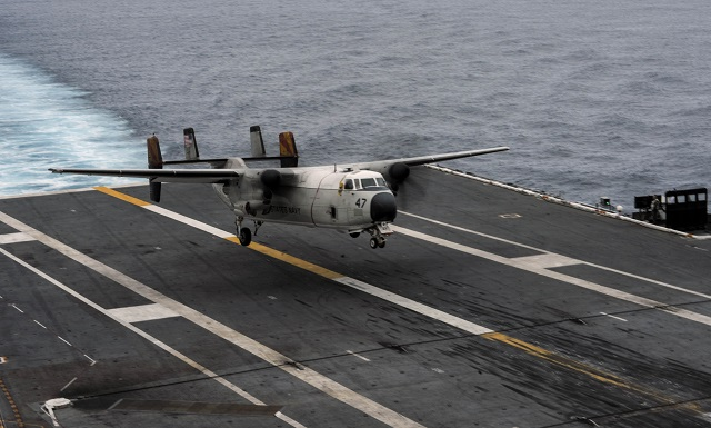 Fleet Logistics Support Squadron (VRC) 30 celebrates 50 years of utilizing the C-2A Greyhound, marking a huge milestone for this aircraft platform. VRC-30 transports mail, personnel, aviation and shipboard parts to aircraft carriers throughout the Pacific Fleet, contributing to mission completion.