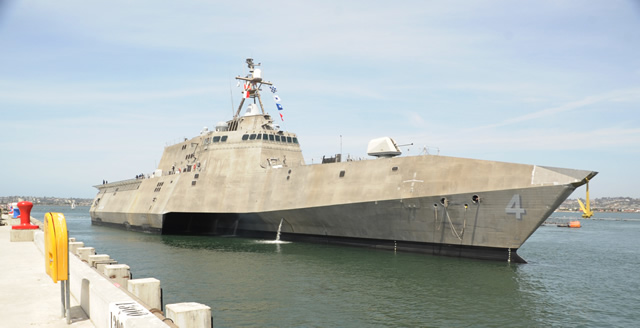 The U.S. Navy will commission its newest littoral combat ship, the future USS Coronado (LCS 4), April 5, during a ceremony at Naval Air Station, North Island in Coronado, Calif.