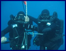 The DCI-NAVCO military diving school takes possession of a new infrastructure and opens a brand new international military diving school (CIFPM) in Saint-Mandrier. The DCI diving school has already trained 360 foreign trainees of 5 different nationalities (Qatar, Kuwait, Libya, Slovenia, Malaysia) in 11 years.