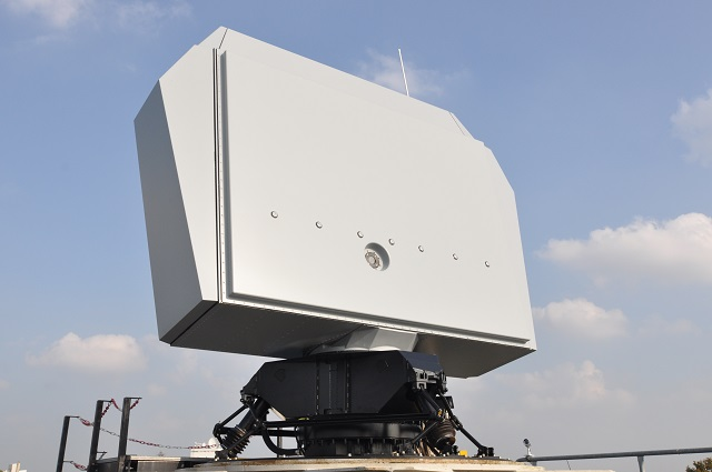 The Netherlands Defence Materiel Organisation (DMO) and Thales have signed a contract for the delivery of a NS100 dual-axis multi-beam surveillance radar. The system will be installed on HNLMS Rotterdam, to replace its 30-year old DA08 radar system. The NS100 will be installed in the second semester of 2017, in line with the ship's maintenance schedule.