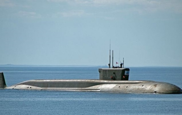 "Russia's third Borey-class nuclear-powered ballistic missile submarine, the Vladimir Monomakh, was officially inducted in the Russian Navy on Friday, the Sevmash shipyard reported. ""The ceremony of raising the Russian Navy colors on the Vladimir Monomakh submarine on Friday, December 19, at Sevmash,"" the shipyard's press-service said in a statement."