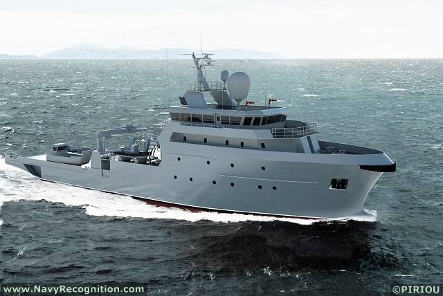 French Navy future B2M vessel (B2M or BMM stands for Bâtiments MultiMissions meaning Multimission Vessel in French)