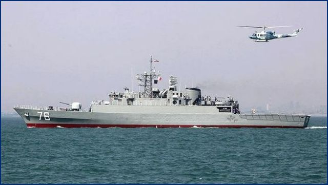 According to the Navy Commander Rear Admiral Habibollah Sayyari, Islamic Republic of Iran's Navy will take delivery of the domestically manufactured Damavand destroyer in a near future. The advanced and well-equipped warship, which is a destroyer of the Jamaran class, was currently undergoing final tests.