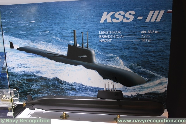 Navy Recognition learned from two separate sources who wished to remain anonymous that French defense companies Sagem and Thales would have been selected to provide sensor systems for South Korea's Jangbogo III heavy diesel-electric submarine programme (KSS-III).