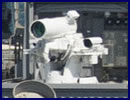 U.S. Navy LaWS Laser Weapon System now Operational on board USS Ponce in the Persian Gulf.