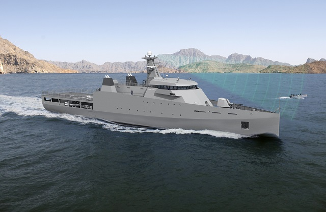 On 20 April, Damen gave a sneak preview of their newly designed 2nd generation Offshore Patrol Vessels (OPVs) during the annual OPVs&Corvettes Asia Pacific conference in Singapore. Damen's Design & Proposal Manager Piet van Rooij explained how this new OPV has been configured for various missions.