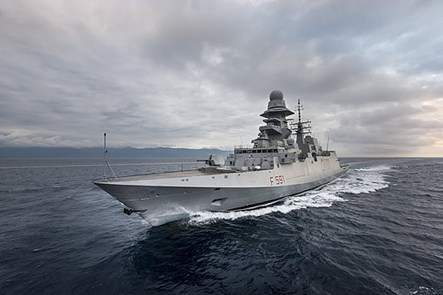 On 16 April 2015, Italy formally placed its order for two further Italian FREMM frigates, exercising an option under the OCCAR FREMM contract. Both frigates will be in the general purpose configuration and will bring to ten the total number of vessels ordered by Italy under this highly successful contract.