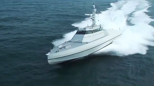 French shipyard CMN has just released a video showing its HSI32 Interceptor reaching a maximum speed of 53 knots. This is an amazing and rare achievement for a military vessel since it translates into 61 Mph or 98 Km/h ! We reported a couple weeks ago that the HSI32 already reached the speed of 47 Knots during its initial sea trials.