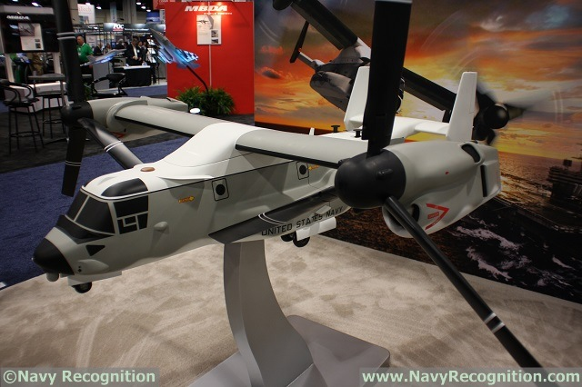 During Sea Air Space 2015, Colonel Dan Robinson, NAVAIR V-22 Program Manager, gave the latest on U.S. Navy variant of the V-22. It was made publich in February this year that the U.S. Navy would procure the Osprey to answer its future Carrier Onboard Delivery requirements. As of now, the U.S. Navy is planning on procuring 48 Ospreys.