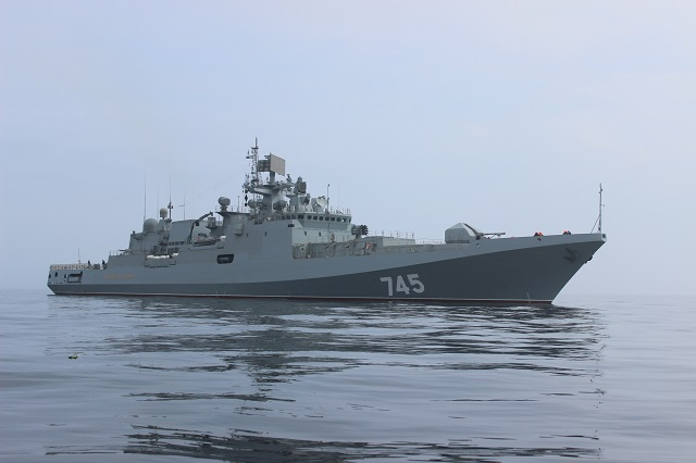 Russia ready to integrate BrahMos missiles into Project 11356 frigates for India