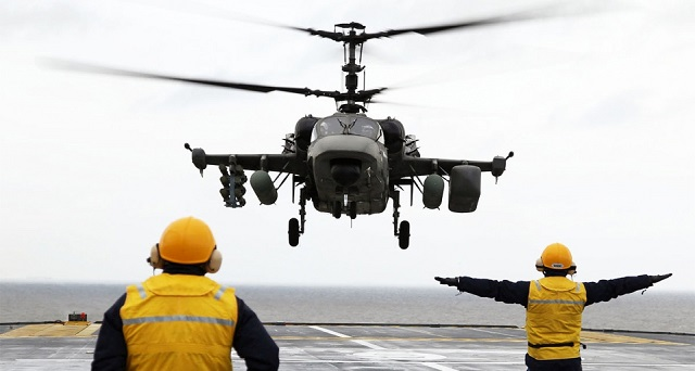 The ship-based Ka-52K is equipped with the Okhotnik video processing system developed by KRET. The Okhotnik system will increase the range of target recognition one and a half times.