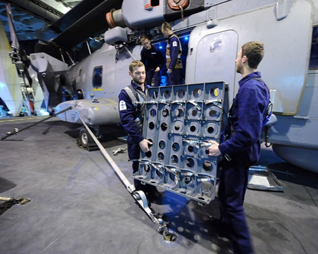 Ultra Electronics announces that its Sonar Systems business, based in Greenford, Middlesex, has been awarded a £18m contract to supply sonobuoys for the Royal Navy's Merlin maritime patrol helicopter. The contract will be executed over the next two years with options for a further two years.