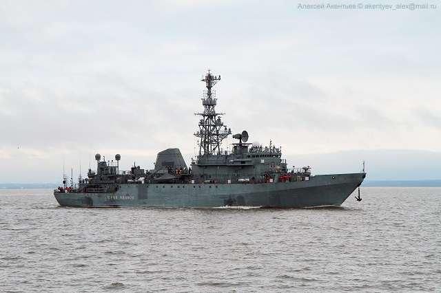 Just one month after its trials at sea, the first Project 18280 intelligence ship Yury Ivanov has been commissionned in the Russian Navy, spokesman for the St. Petersburg-based Severnaya Verf shipyard told Russian news agency TASS on Wednesday.