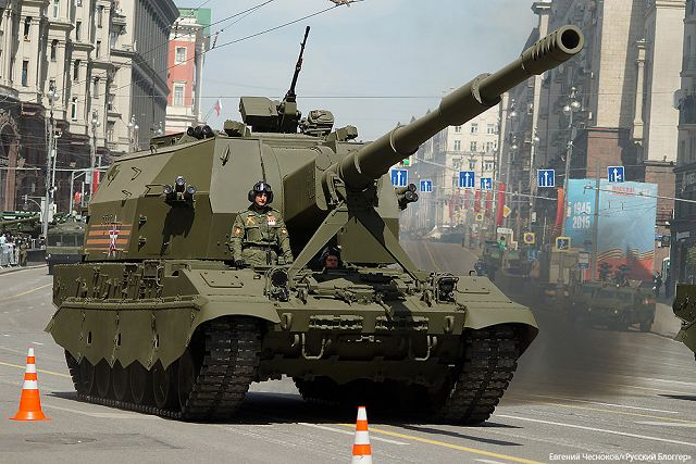 Our colleagues from Army Recognition reported that Russia is developing a new self-propelled coastal defense gun, based on the 2S35 Koalitsiya-SV system. The announcement came from Burevestnik Design Bureau chief, Georgy Zakamennykh. The Russian naval command plans to outline the technical characteristics of the new system within the next two months.