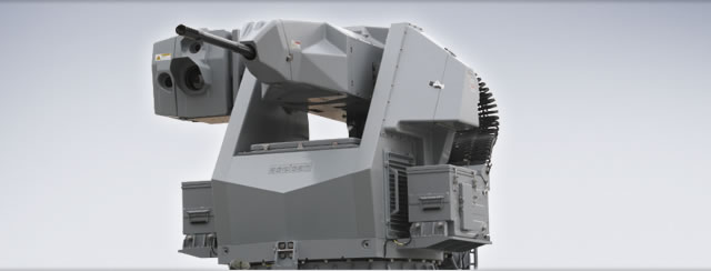 According to Aselsan, STOP is a new generation, cost-effective, medium caliber weapon system for naval platforms fitted with 25mm KBA or 25mm M242 Bushmaster Automatic Canon. The system provides lightweight, versatile and effective means of force protection for applications ranging from capital ships to patrol craft.