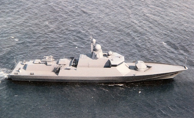 The Project 22800 Karakurt-class guided missile corvettes in construction for the Russian Navy will receive advance radar capable of acquiring aerial targets at arrange of about 100 km, Alexander Khomyakov, first deputy director general/chief designer, Central Design Bureau of Apparatus Engineering, has told journalists.