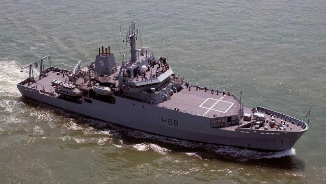 The Royal Navy Echo class survey vessel HMS Enterprise will replace Albion class assault ship HMS Bulwark in the Mediterranean sea and shift focus on intelligence gathering role to disrupt the smuggling networks and the criminal gangs running the illegal migration operations.