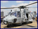 "NHI celebrated during the Paris Air Show 2015 the operational achievements of the French Navy with the NH90 NFH ""Caiman"" Marine. This event took place in the NHI Pavilion in presence of vice-admiral de Tarlé vice-chief of the French Navy, and Rear Admiral Thouvenin commanding the French Fleet Air Arm in presence of the NHI Board."