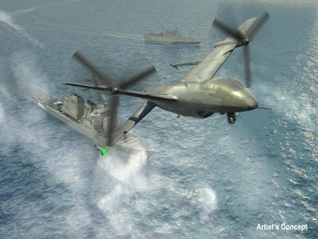 Tern Progress Toward Enabling Small Ships to Host their own Unmanned Air Systems (UAS)