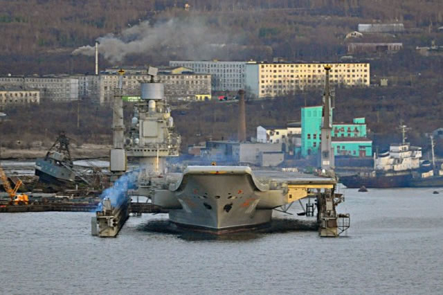 The 35th Shipyard, an affiliate of the Zvyozdochka Shipyard (a subsidiary of the United Shipbuilding Corporation, USC), is starting its preparations for upgrading the Project 11435 (NATO reporting name: Kuznetsov-class) heavy through-deck cruiser, according to the Izvestia daily.