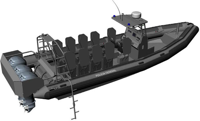 French RHIB specialist Sillinger announces it just won a tender with Brazil's Federal Police to supply six new rigid hull inflatable boats (RHIBs) for coastal patrol, anti-drug trafficking and fast troop transport missions.