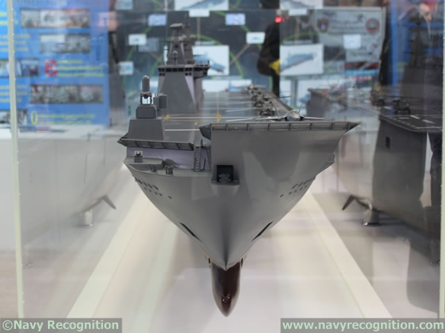 Turkey's Undersecretariat for Defense Industries (SSM) announced in December 2013 that it selected Sedef shipyard as winner of its LPD tender and that final contract negotiations with this shipyard could begin. Sedef shipyard in Turkey offers a design based on Juan Carlos LHD under the collaboration with Spain's Navantia.