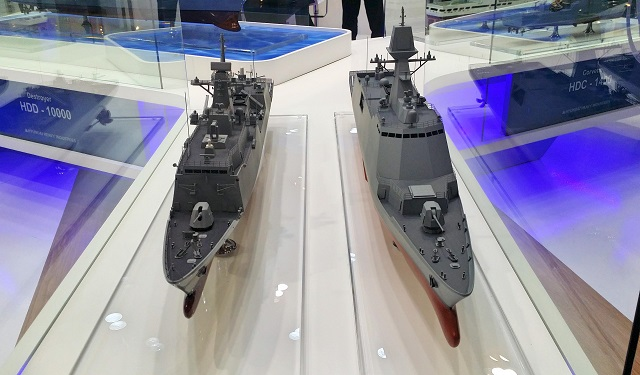 During the Marine Week 2015 exhibition which was held October 20 - 23 in Busan, South Korea, Hanwha Thales unveiled for the first time the Integrated Mast (I-MAST) system currently in development for the future third batch FFX frigate of the Republic of Korea Navy (ROK Navy).