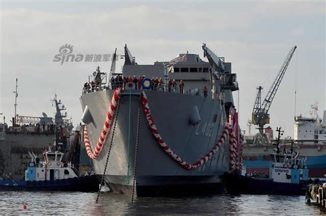 ADIK Shipyard launched the first ship of a new class of landing ships (LST) TCG Bayraktar on 3rd October 2015. Her construction started 17 months ago. The contract for the construction of a new LST's was signed between Turkey Ministry of Defence and ADIK_Furtrans shipyard on 11 May 2011. The project consists in a locally produced new generation fast amphibious vessel of upper-intermediate size designed to meet operational requirements of Turkish Naval Forces Command.
