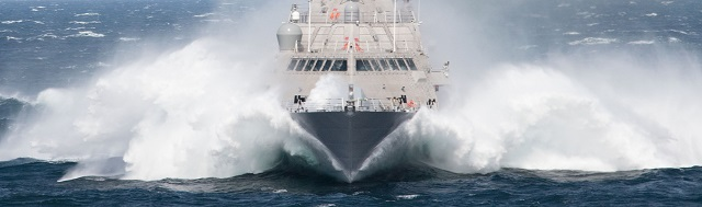 The future USS Milwaukee (LCS 5) successfully concluded its acceptance trial Sept. 18, after completing a series of in-port and underway demonstrations for the Navy's Board of Inspection and Survey (INSURV).
