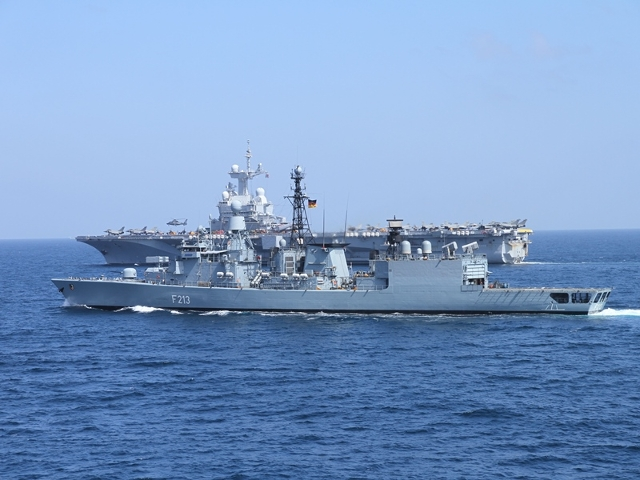 "The German Navy (Marine) announced that it is deploying its Bremen-class frigate ""Augsburg"" again to participate to the escort of French Navy (Marine Nationale) aircraft carrier ""Charles de Gaulle"" strike group (CSG). The ASW Frigate will leave its home port to join the CSG in the Mediterranean."