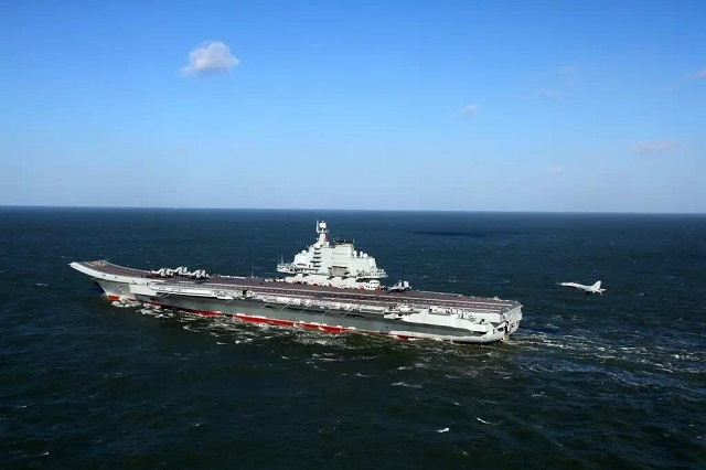 According to an official statement by the People's Liberation Army Navy (PLAN or Chinese Navy) released this morning, a new batch of naval aviation pilots achieved their first landings and takeoffs aboard aircraft carrier Liaoning. These young J-15 pilots obtained their flight certification that allows them to conduct operation from and to the Chinese aircraft carrier.