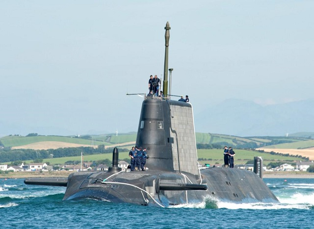 BAE System Awarded Contract for 6th Astute-class SSN Attack Submarine Agagmemnon