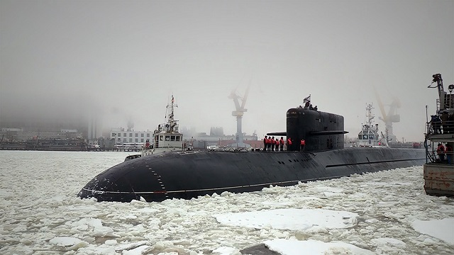 Project 09787 Special Purpose Submarine BS 64 Podmoskovye 2