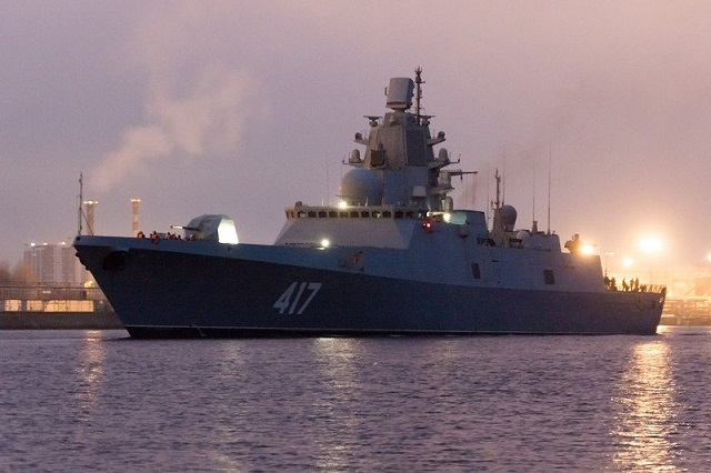 Project 22350 Frigate Admiral Sergey Gorshkov Russian Navy