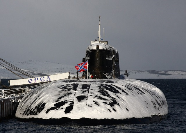 The Russian Navy is planning to upgrade only a part of operational Project 949A (Antey-class, NATO reporting name: Oscar II) nuclear-powered submarines armed with cruise missiles (SSGN), CEO of Russia's Rubin Central Design Bureau for Marine Engineering Igor Vilnit told TASS.