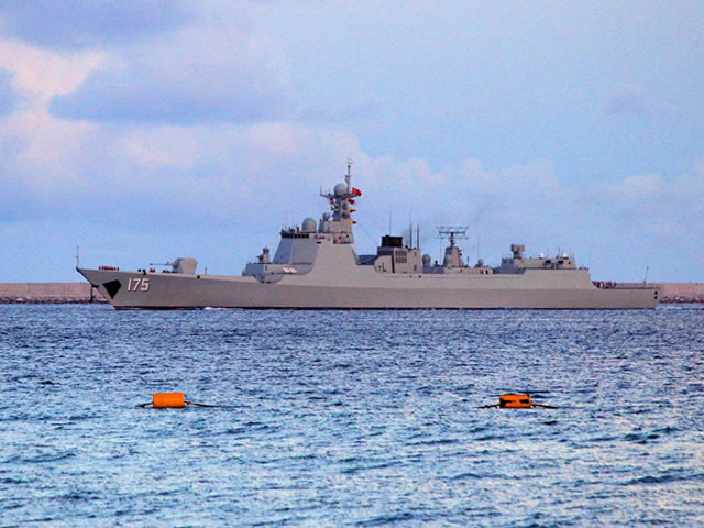 China's fourth Type 052D guided-missile destroyer (NATO reporting name Luyang III class) with hull number 175 should be commissioned with the People's Liberation Army Navy (PLAN or Chinese Navy) soon said Cao Weidong, a Chinese military expert, in an interview with China Center Television.