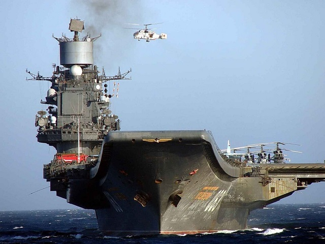 The air wing of Russia's aircraft carrier Admiral Kuznetsov will attack militants in Syria from the eastern part of the Mediterranean Sea in October 2016 - January 2017, a military and diplomatic source in Moscow told TASS.
