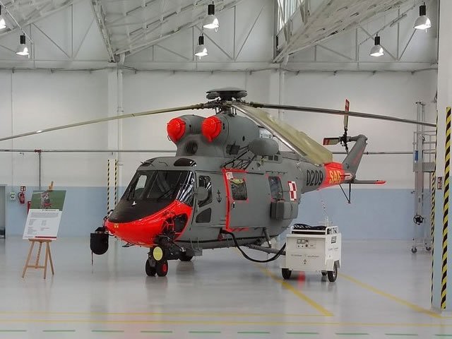 PZL-Swidnik, a Leonardo-Finmeccanica company, handed over of the first two out of five modernized W-3RM Anakonda helicopters to the Polish Navy on June 27th. PZL-Swidnik developed and produced W-3RM Anakonda helicopter, which is in service of the Polish Navy. Polish seamen use six such machines and two W-3 helicopters in transport version.